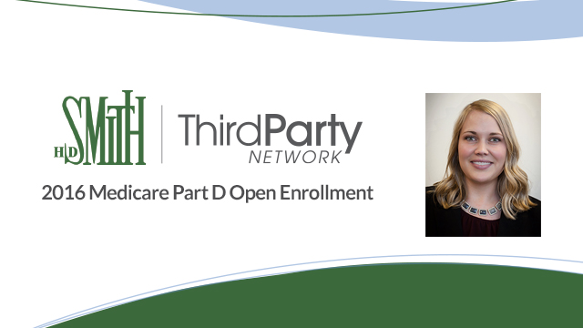 2016 Open Enrollment & Third Party Network - Pharmacy Podcast Episode 253