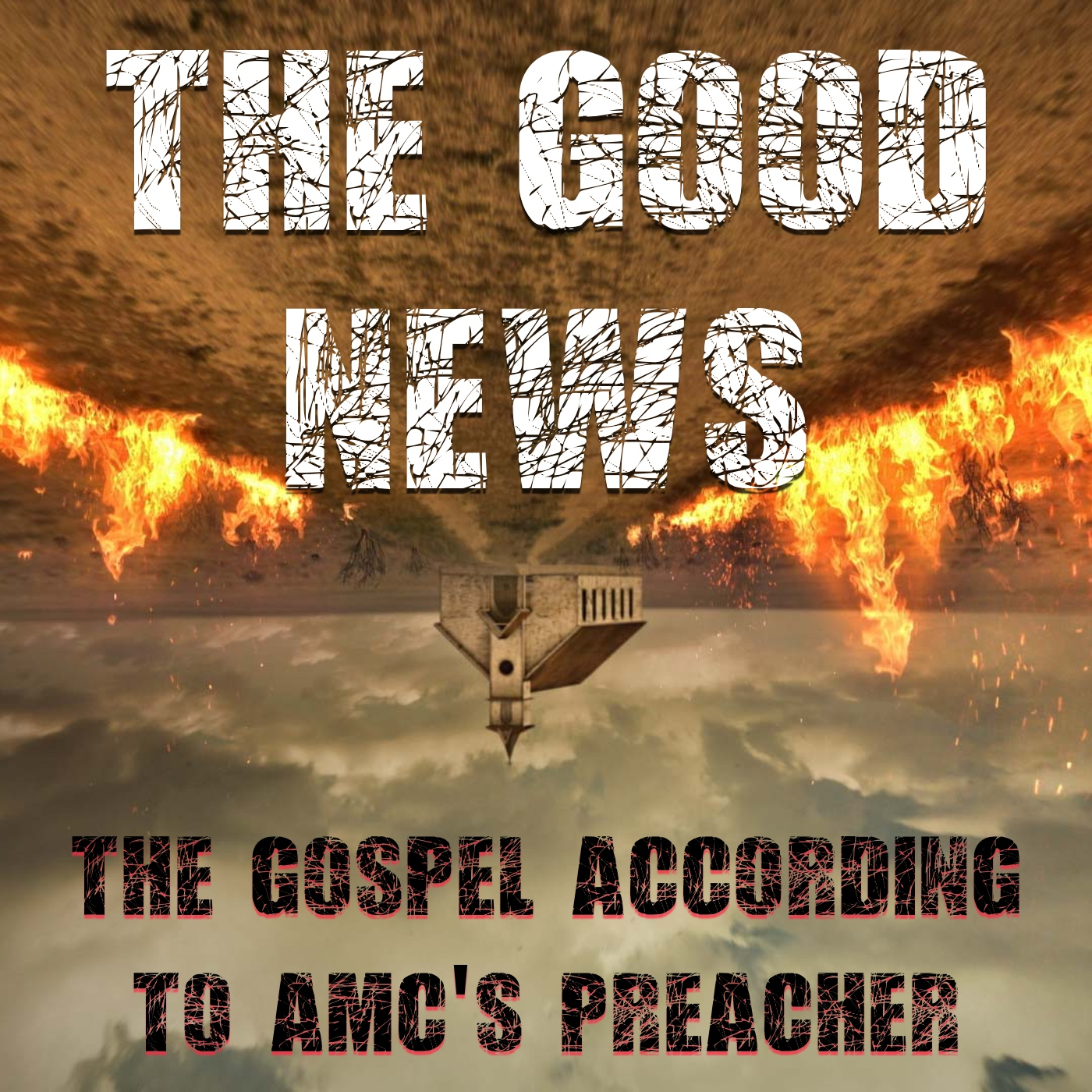 Good News: The Gospel According to AMC's Preacher show art