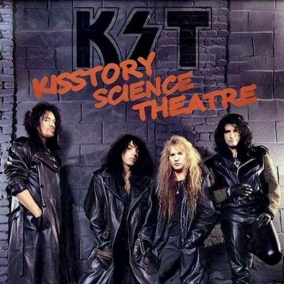 Kisstory Science Theatre show art