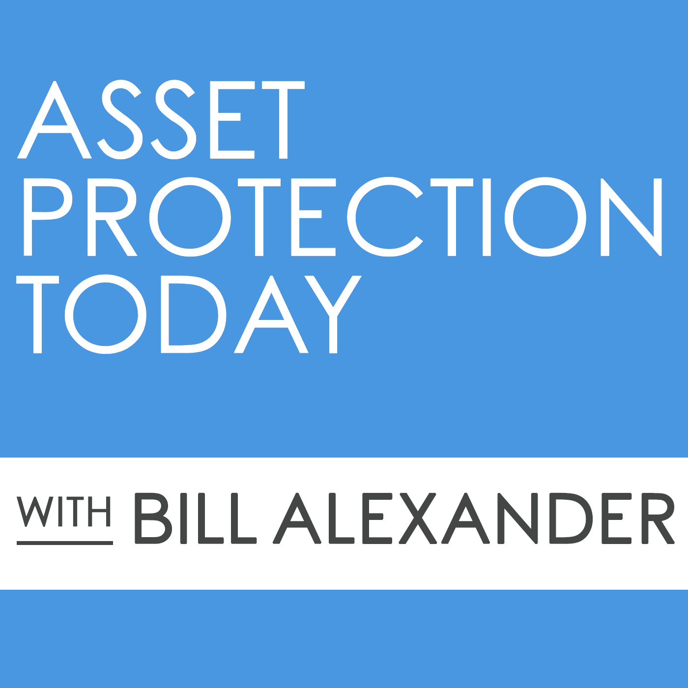 Asset Protection Today with Bill Alexander show art