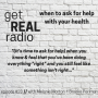 Artwork for episode #23: when to ask for help with your health