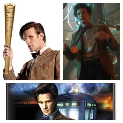 Tim's Take On: Episode 124(Matt Smith carries the Olympic Torch/Good and Gold review/The Eternity Trap review)