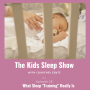 """Artwork for Episode 29: What Sleep """"Training"""" Really Is"""