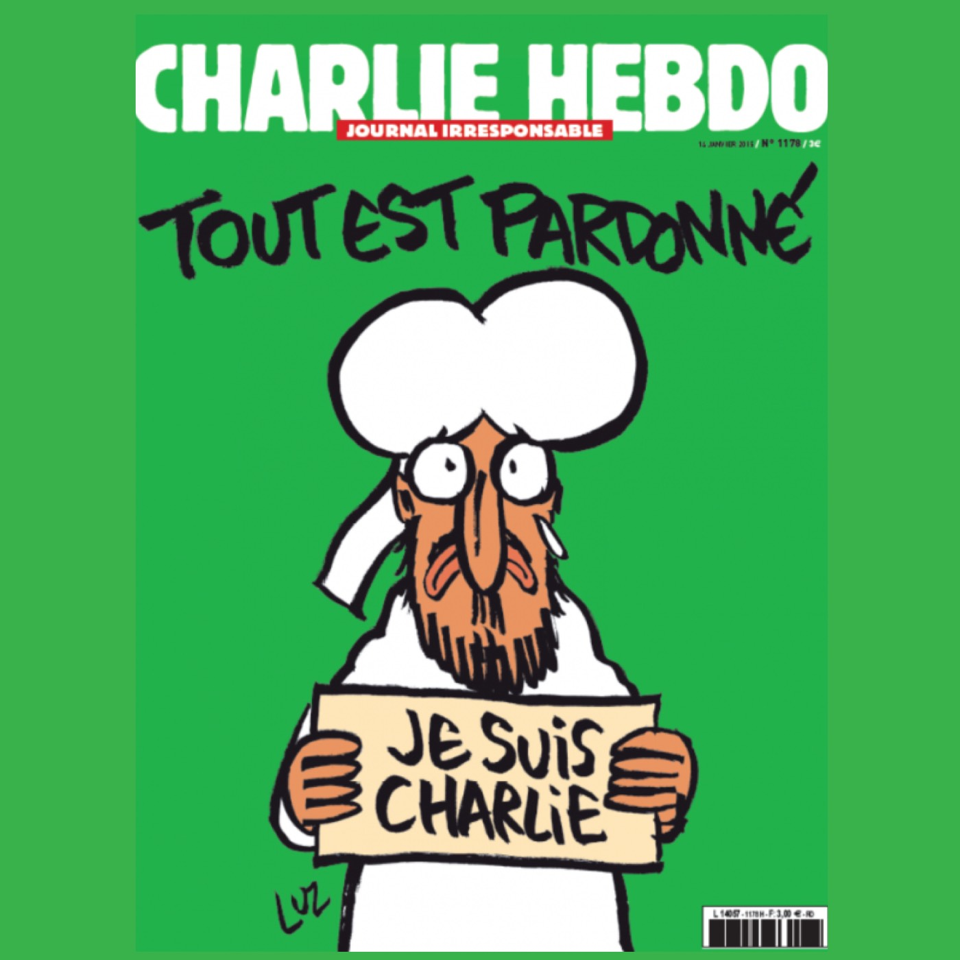 (2015/01/20) Freedom, terrorism and where we stand (Charlie Hebdo)