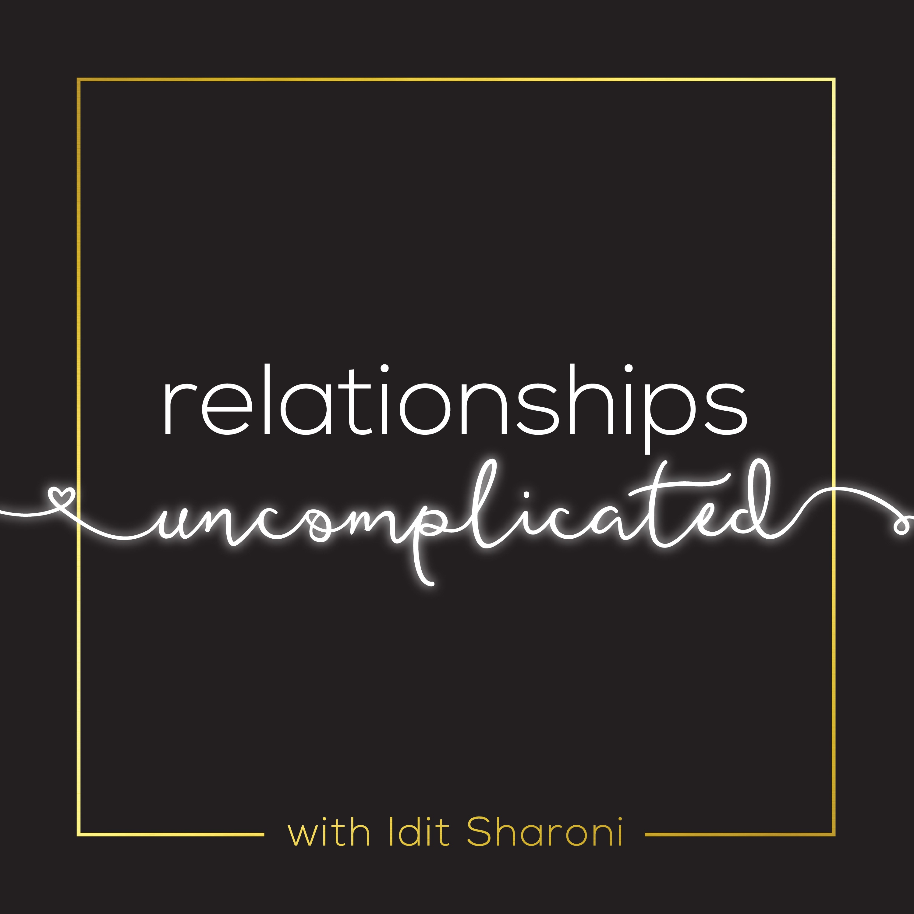 Relationships Uncomplicated show art
