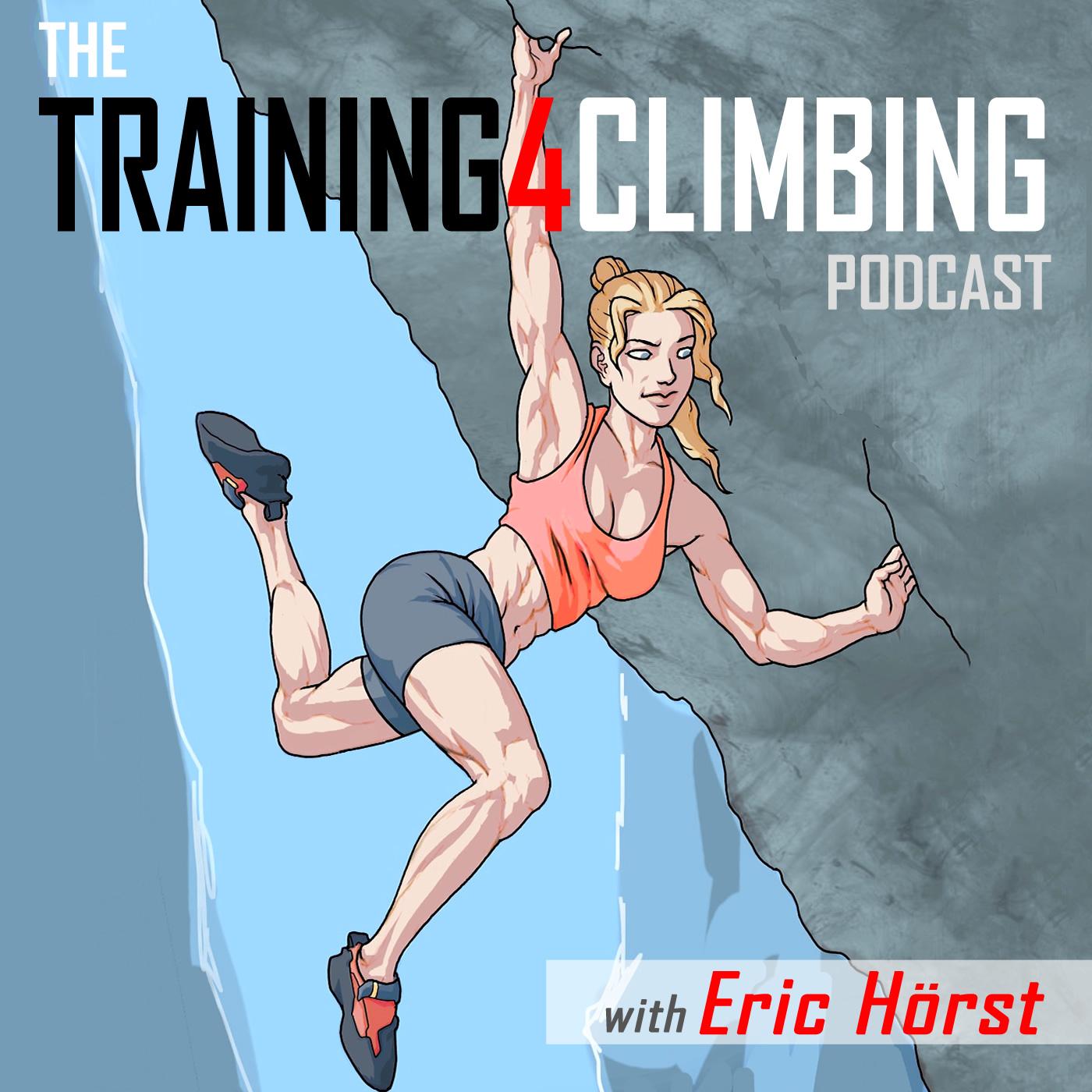 Eric Hörst's Training For Climbing Podcast show art