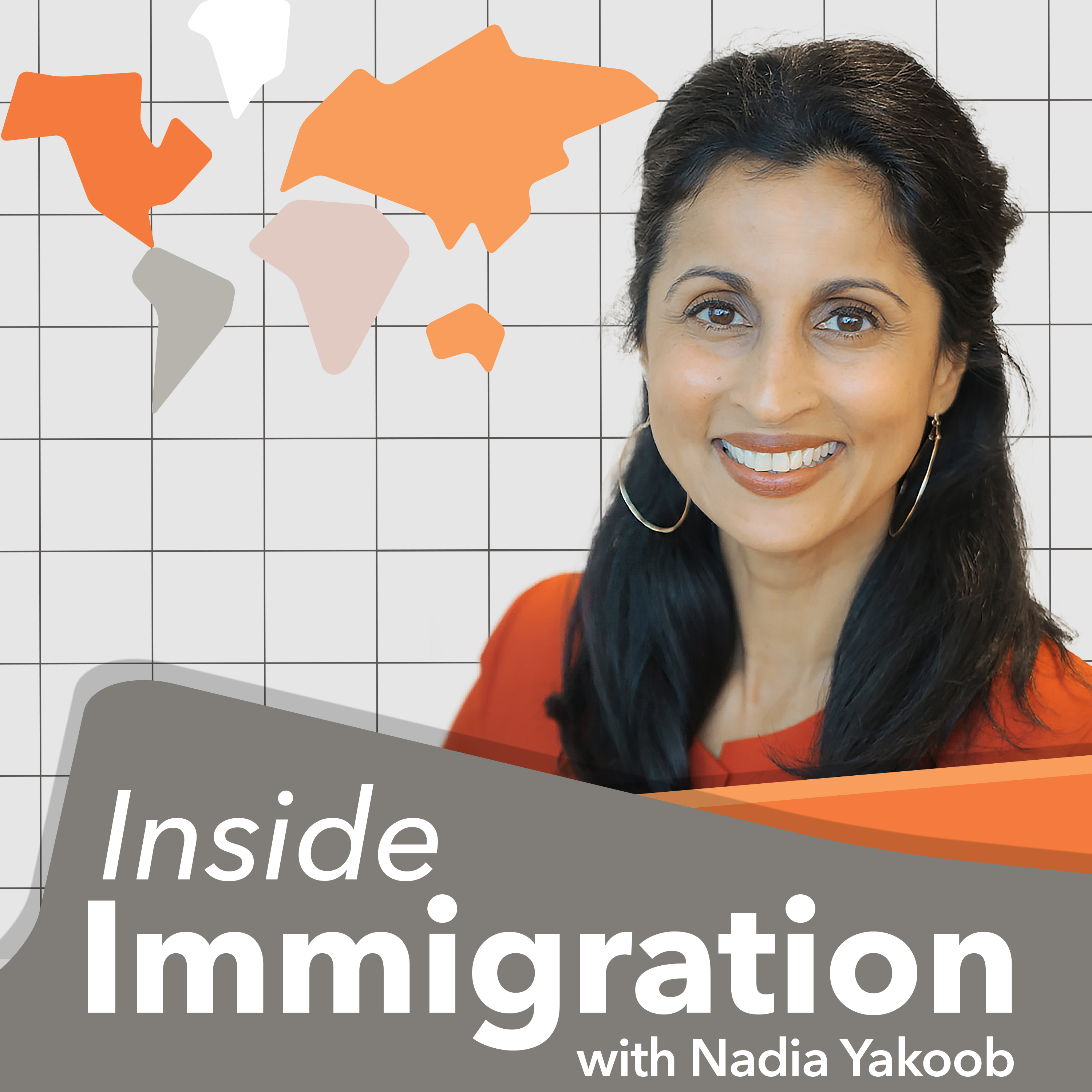 Inside Immigration with Nadia Yakoob show art
