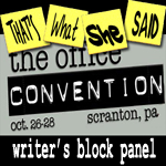 Convention Special # 2 -- Writers' Block Panel