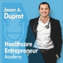 Artwork for #009: Dr. Jason Hammond: Lessons from an Ortho Surgeon and CEO: Embrace your Uncomfort Zone