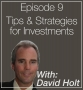 Artwork for 009: Tips & Strategies for Investments with Dave Holt