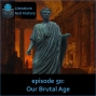 Artwork for Episode 50: Our Brutal Age (Horace's Poetry)