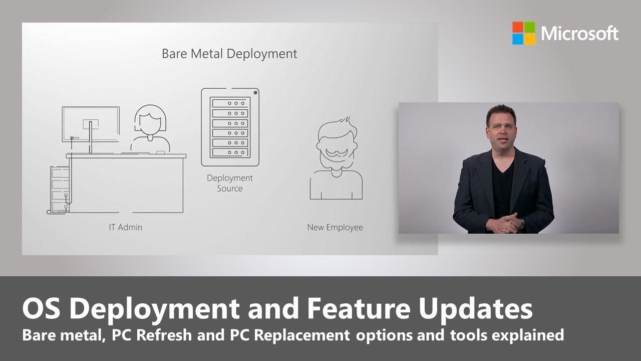 Artwork for OS Deployment and Feature Updates - Step 6 of Modern Desktop Deployment