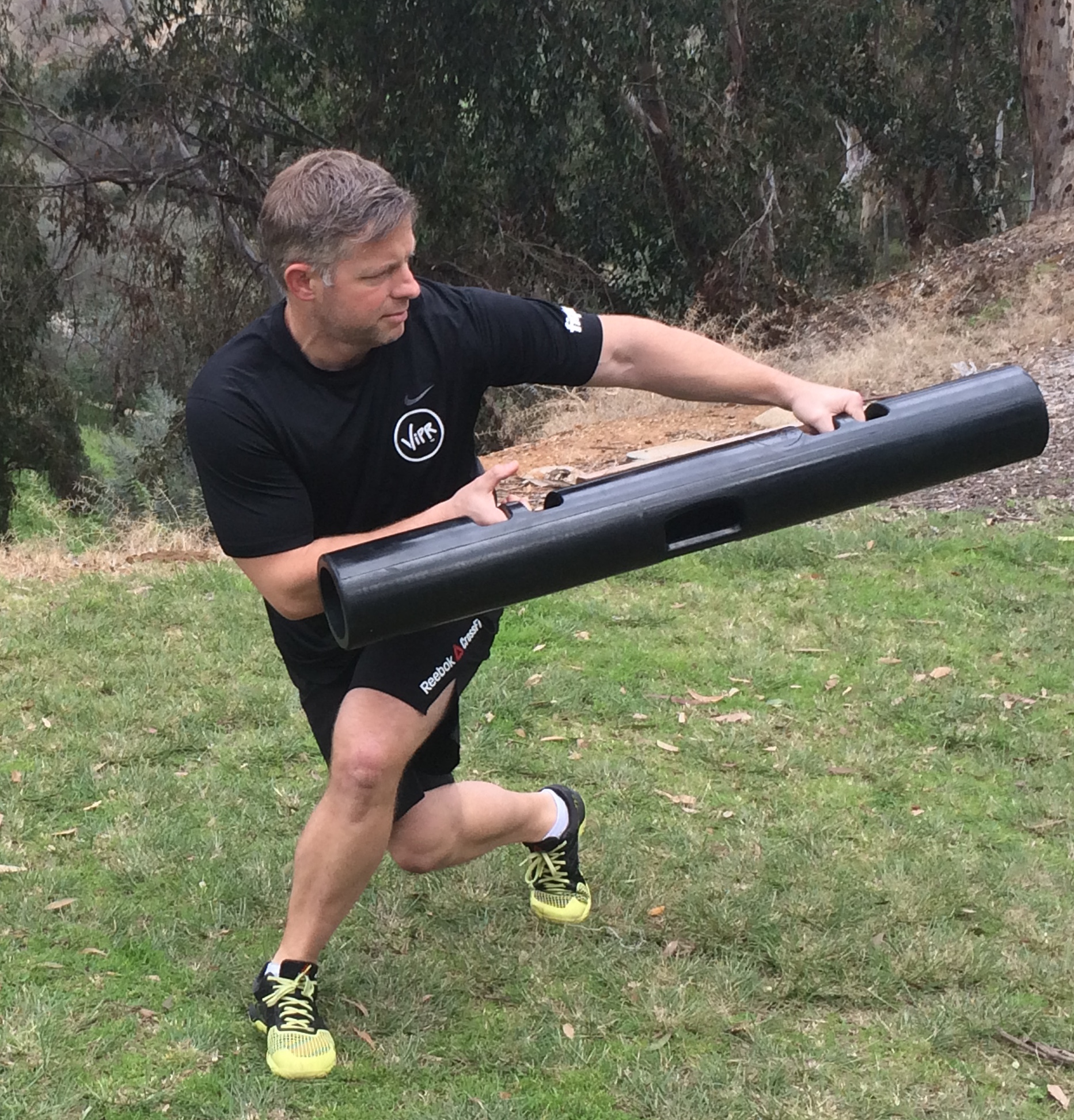 The ViPR was designed for workouts that focus on movement patterns, not muscles