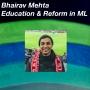 Artwork for Bhairav Mehta on Education and Reform in Machine Learning
