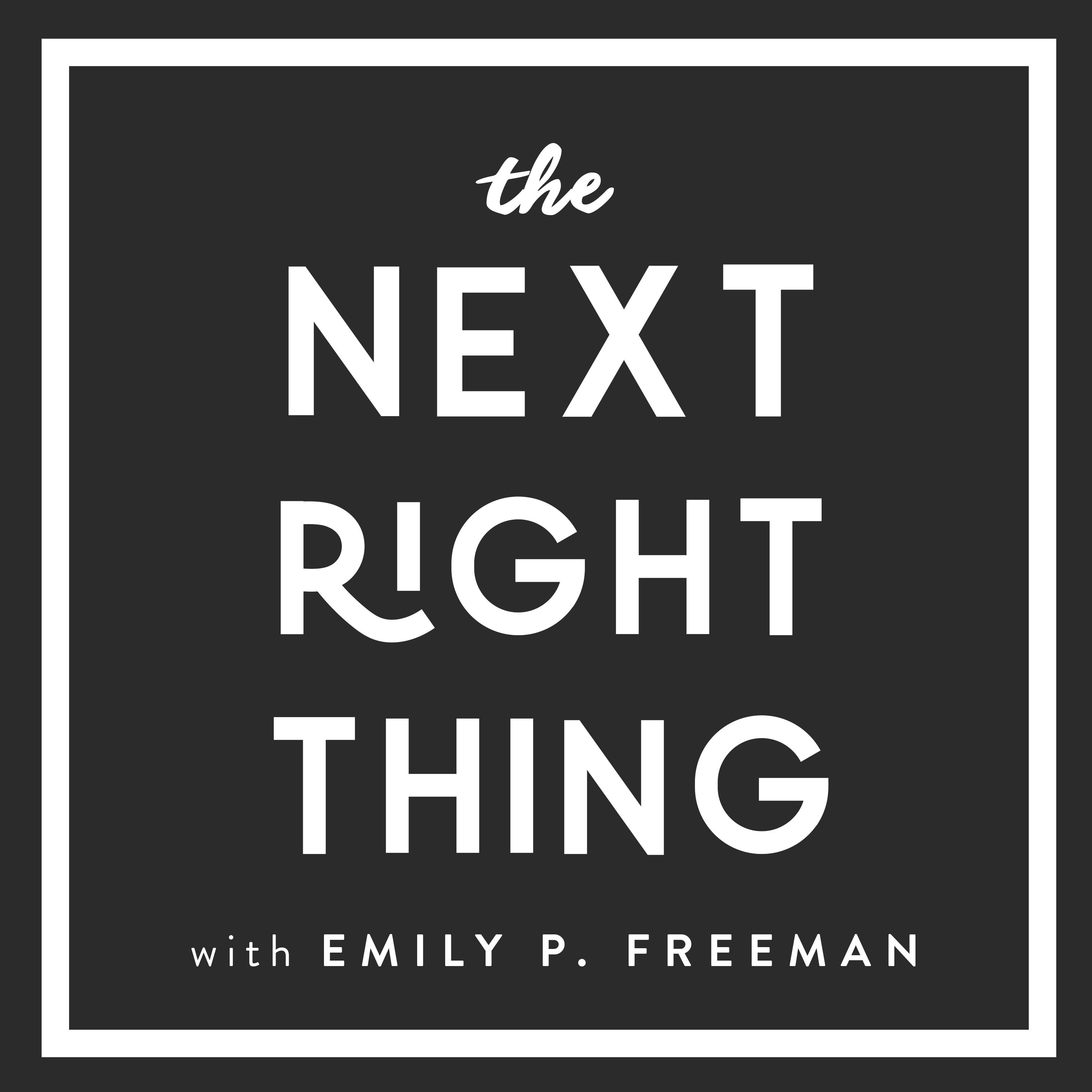 177: The Next Right Thing for People Pleasers