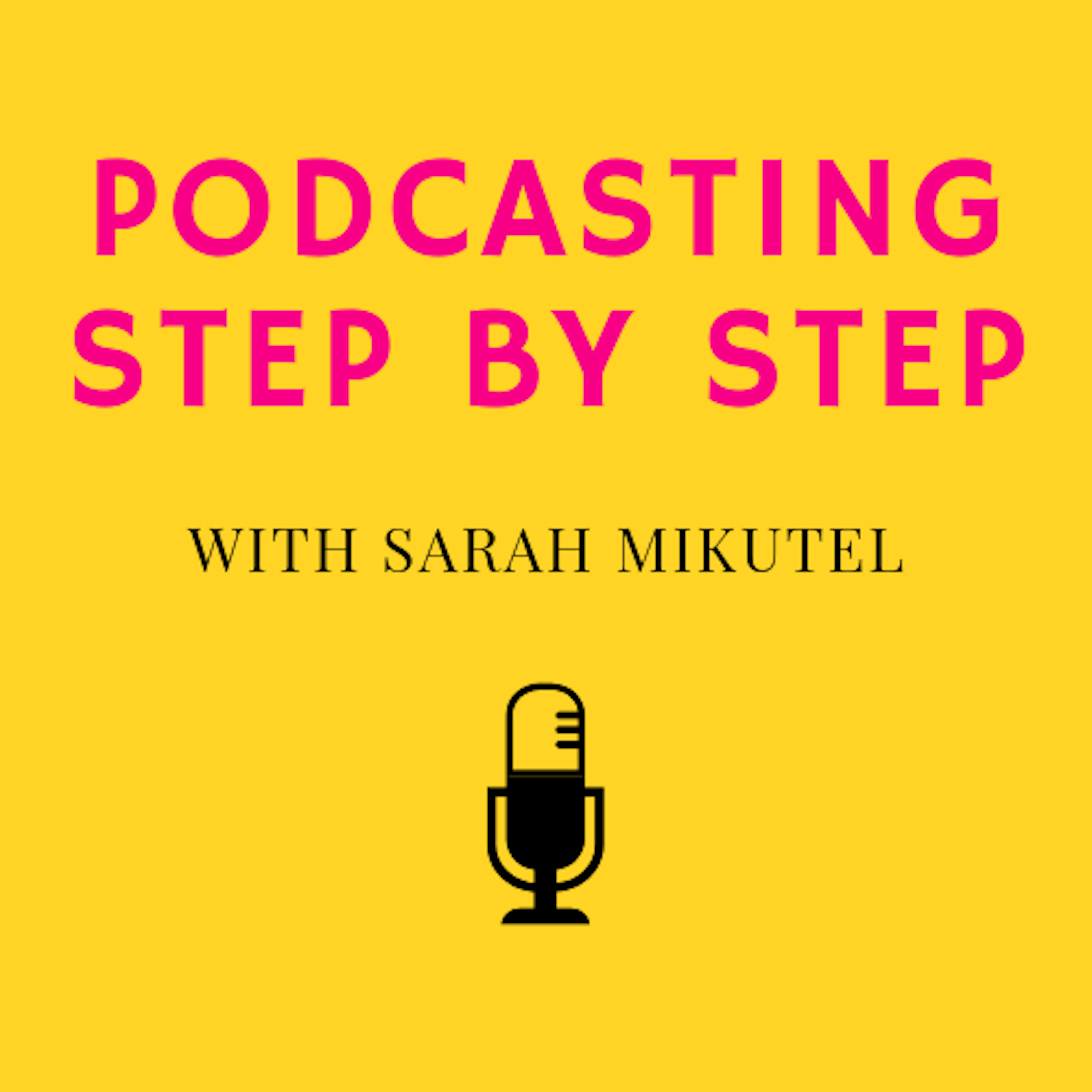 Podcasting Step by Step show art