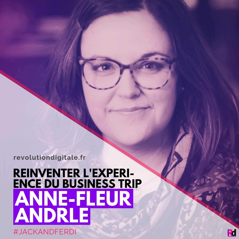 Réinventer l'expérience du voyage d'affaires, avec Anne-Fleur Andrle (Jack and Ferdi)