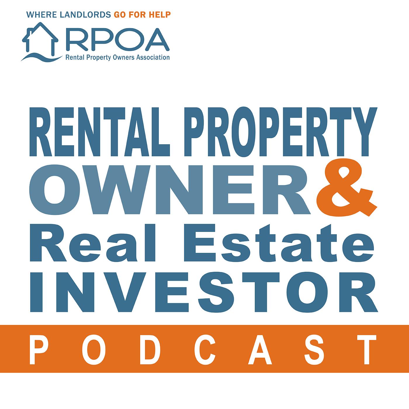 Rental Property Owner & Real Estate Investor Podcast show art