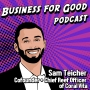 Artwork for Ep. 11 - The Business of Saving Coral Reefs with Sam Teicher