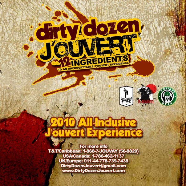 Dirty Dozen J'ouvert Promo CD