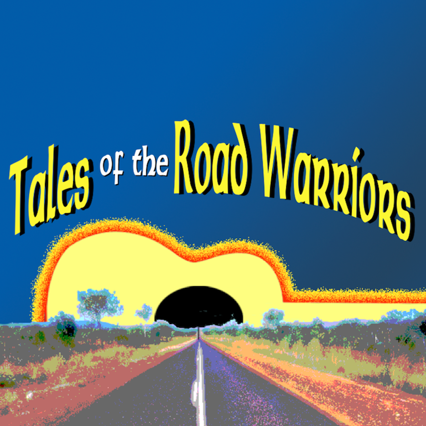 Tales of the Road Warriors show art