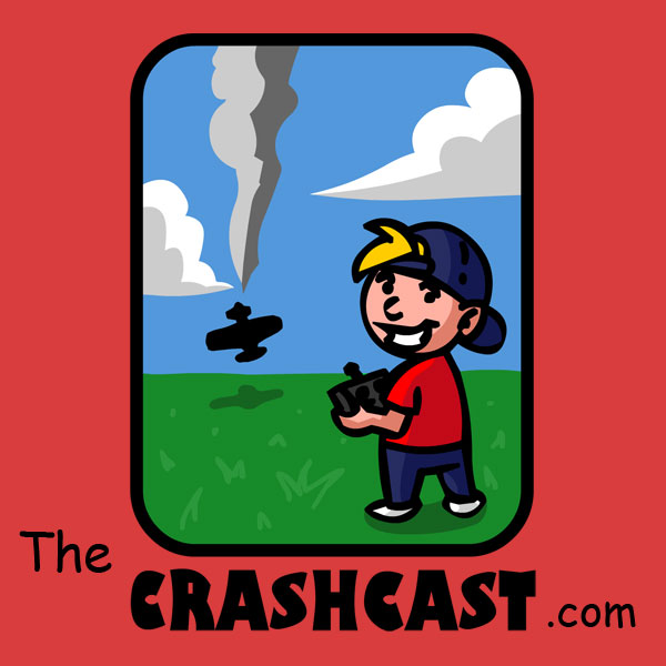 TheCrashCast show art