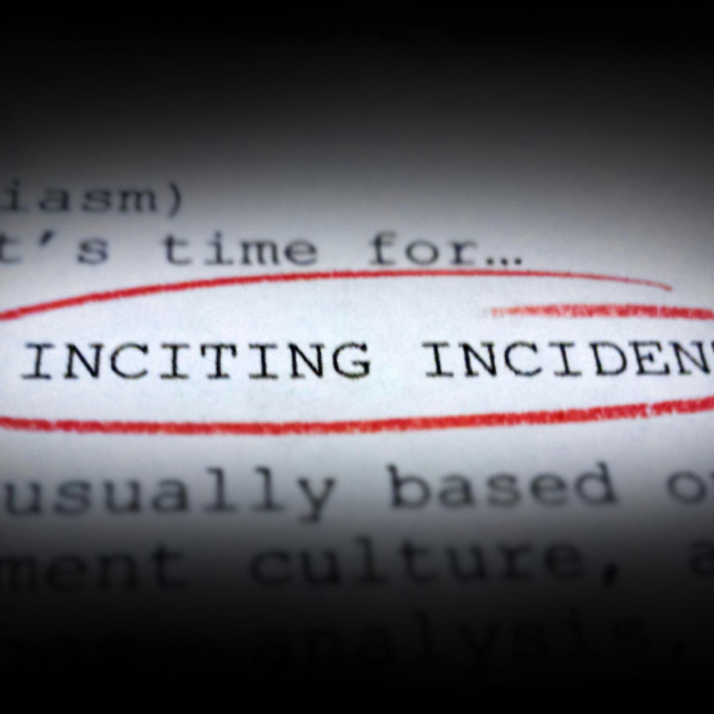 Artwork for Inciting Incident #10 - Campus Culture, RE: Jonathan Haidt, Sam Harris