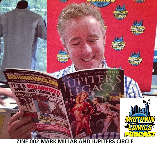 Zine 002 Mark Millar and Jupiters Circle