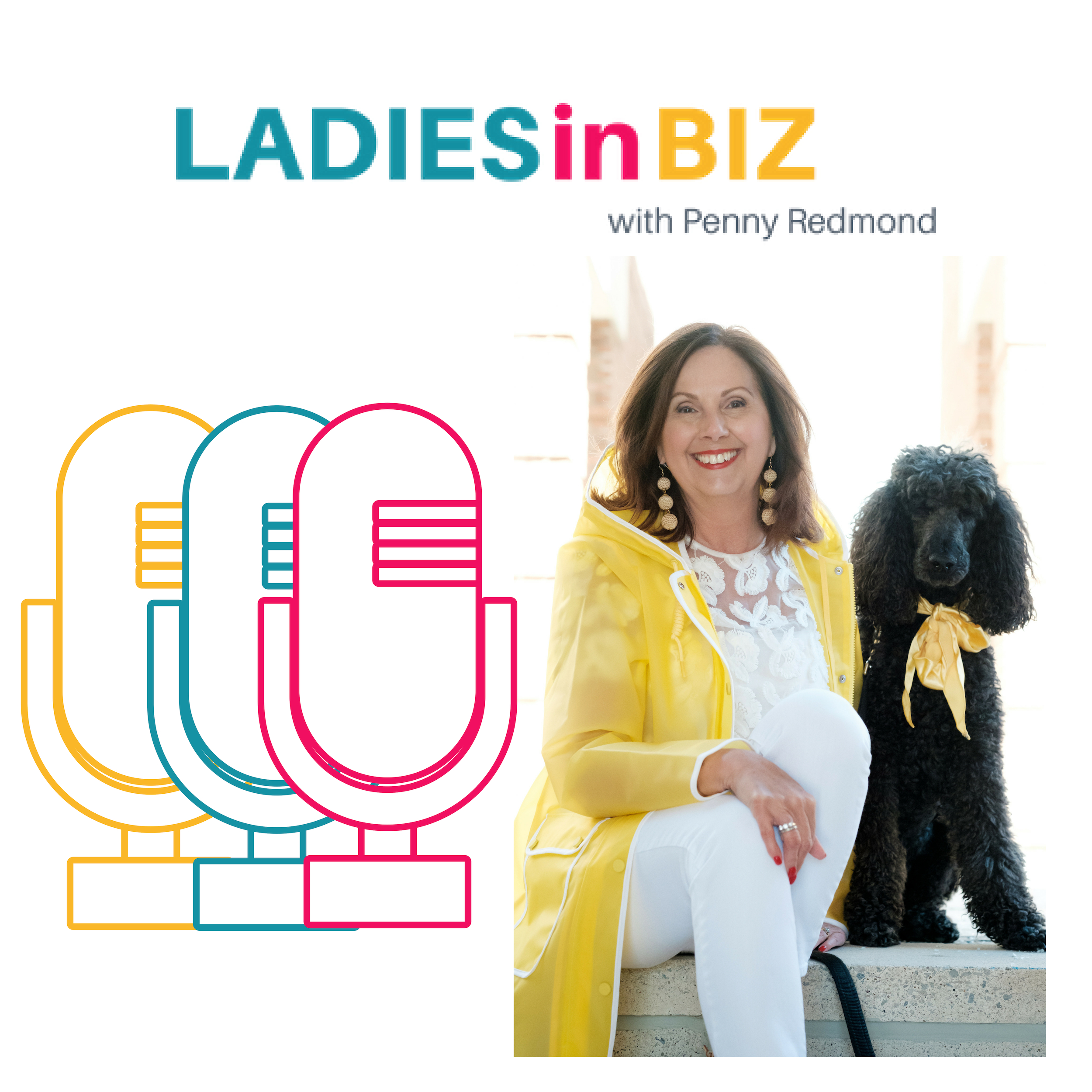 Ladies in Biz Podcast show art