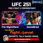 Artwork for UFC's Gamebred Jorge Masvidal takes on Champion Kamaru Usman on 6 Days Notice at Fight Island UFC 251
