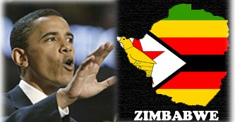 Bwana Obama, with Trinkets for Zimbabwe