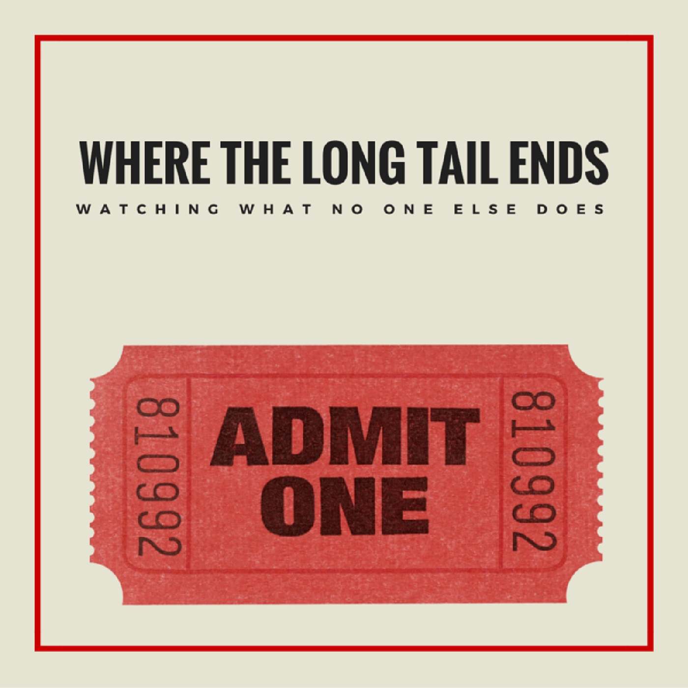 Where the Long Tail Ends  show art