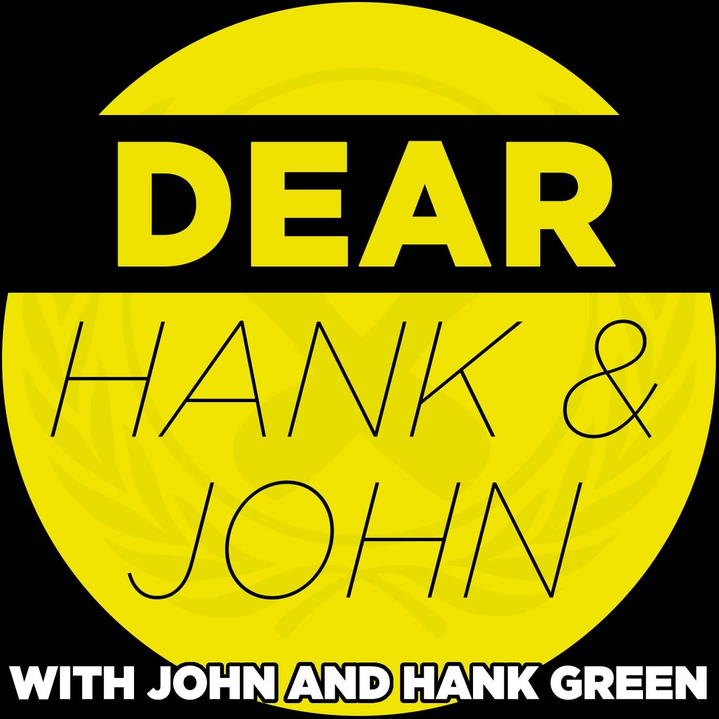 Dear Hank and John show art