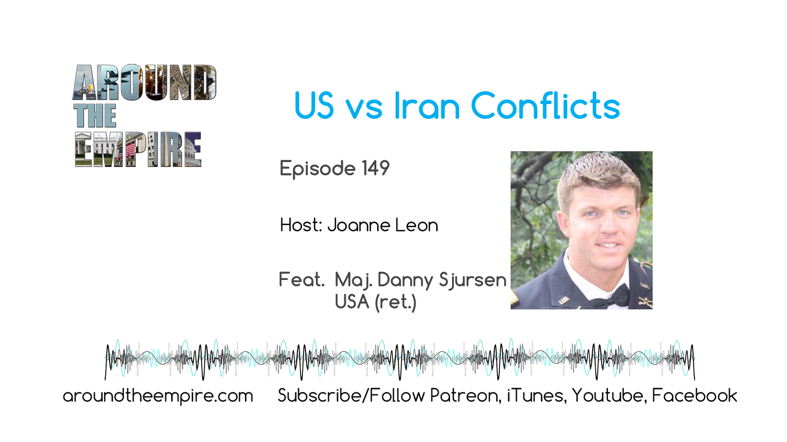 Ep 149 US vs Iran Conflicts feat Danny Sjursen