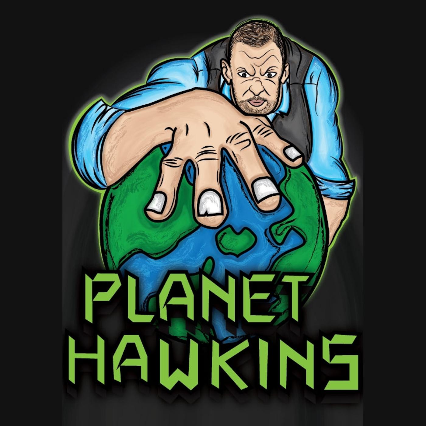 Planet Hawkins show art