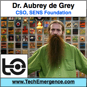 Aubrey de Grey - Chief Science Officer, SENS Foundation - On Ending the Disease of Death
