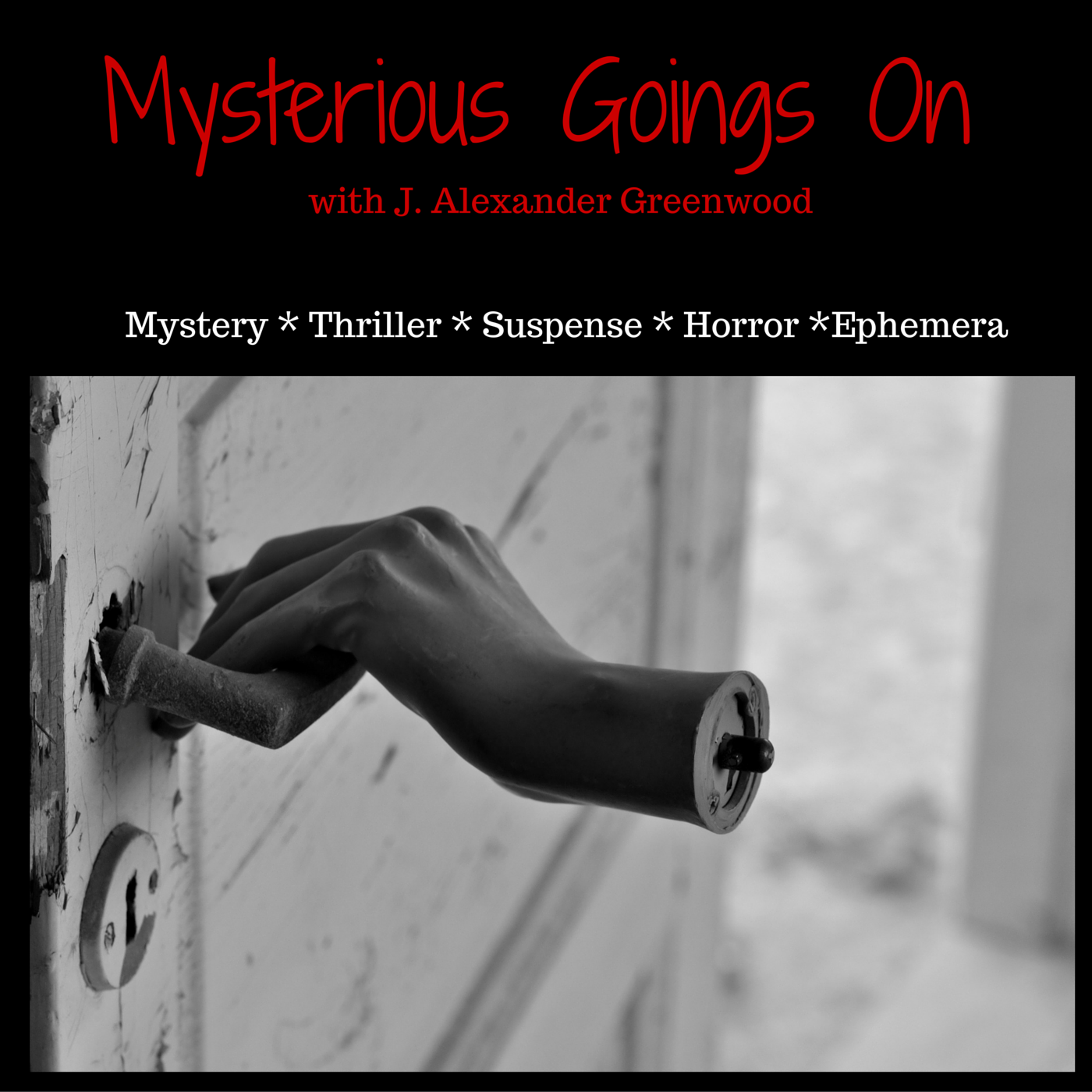 Mysterious Goings On show art