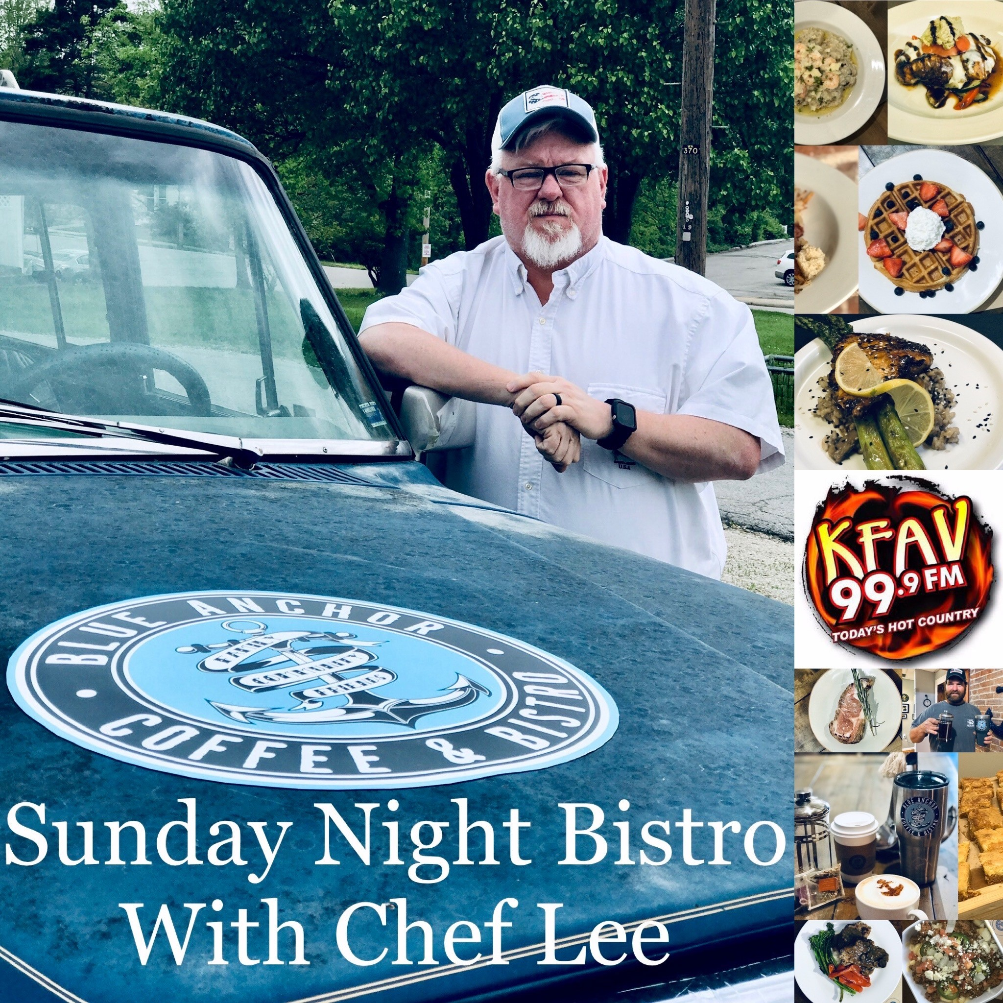 Sunday Night Bistro with Chef Lee show art