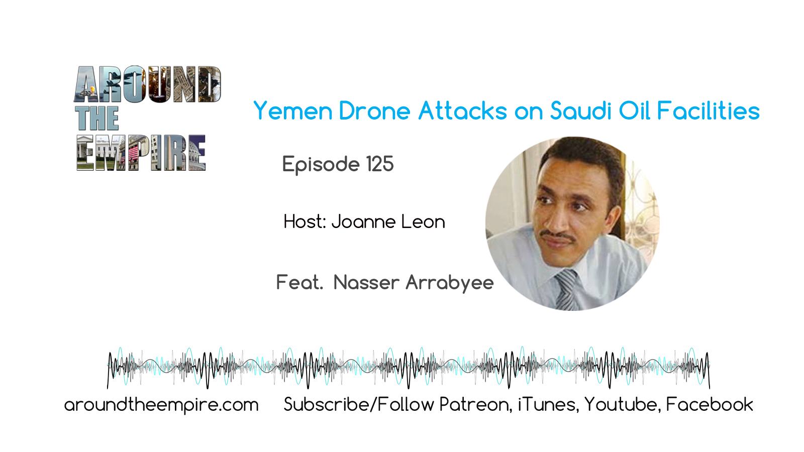 Ep 125 Yemen drone attacks on Saudi feat Nasser Arrabyee