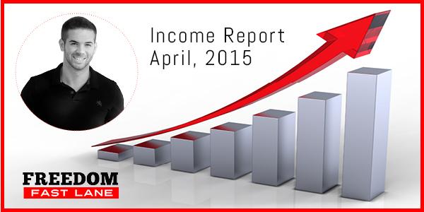 April Income Report 2015
