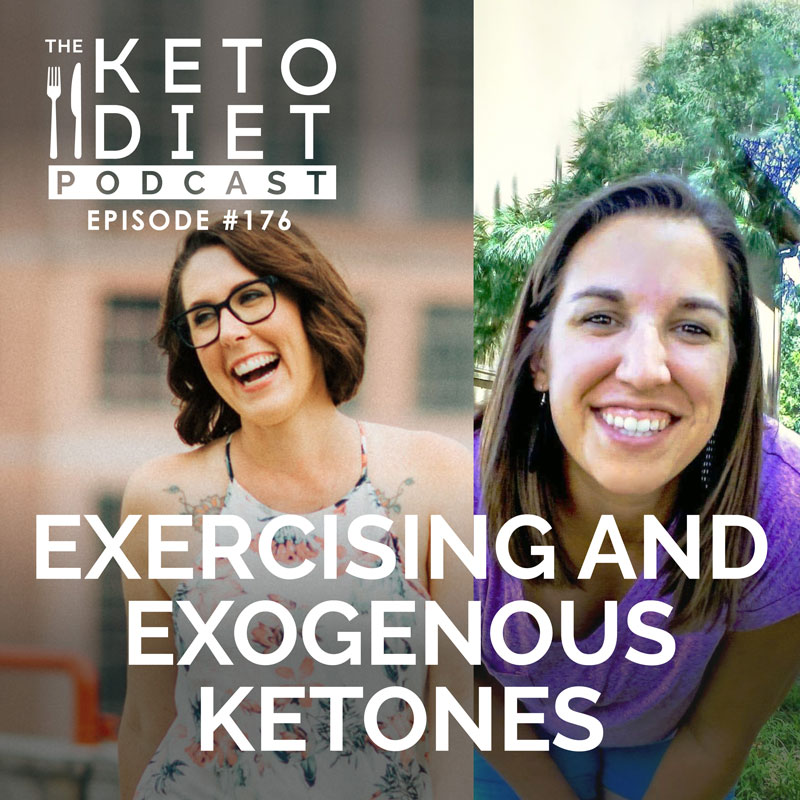 #176 Exercising and Exogenous Ketones with Tiffany Summit