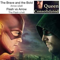 Flash/Arrow Crossover - Arrow s3e8, The Flash s1e8