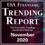 Artwork for November 2020 - USA Financial Trending Report