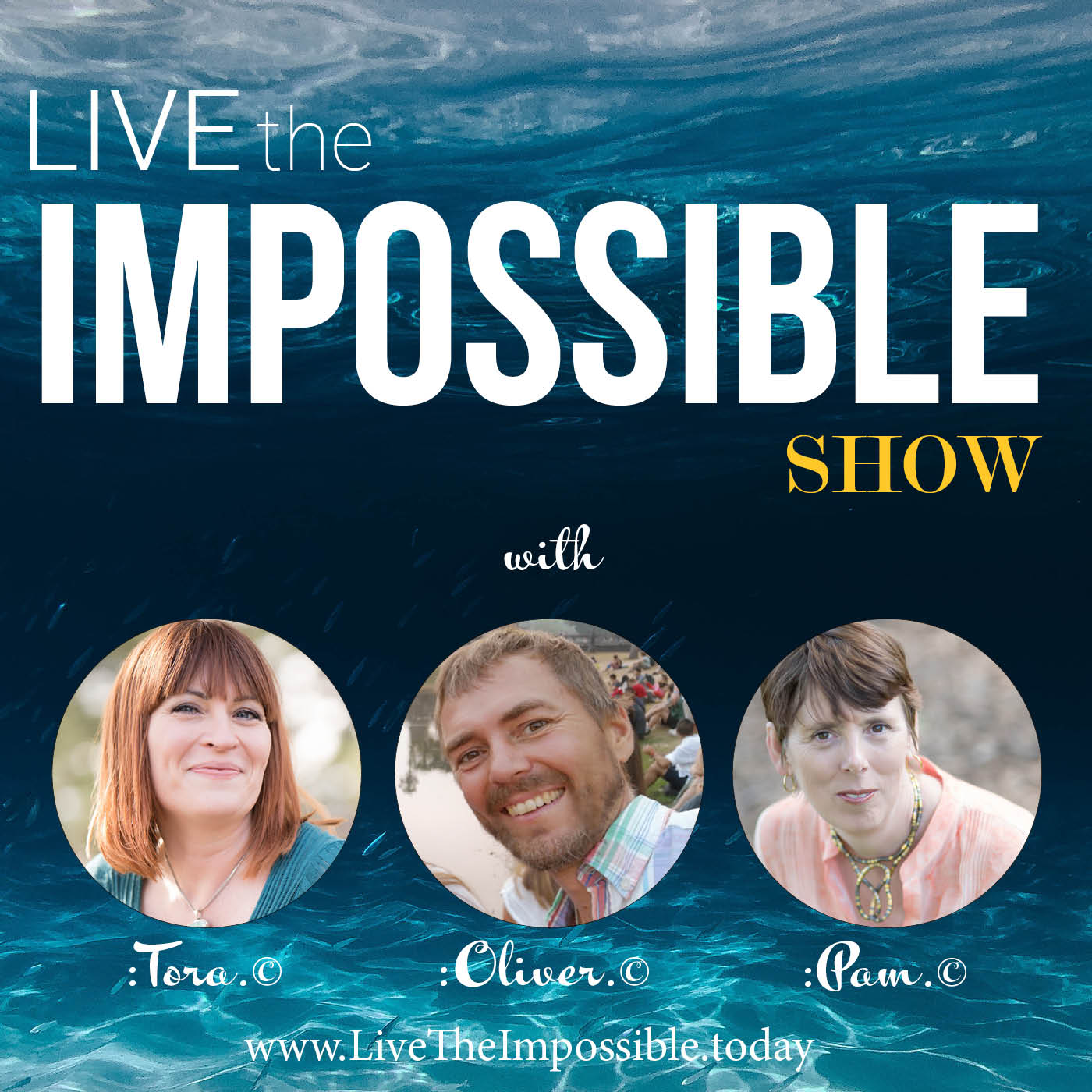 Live the Impossible Show show art