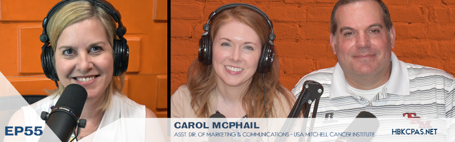 Carol McPhail on the Playing Above The Line Podcast