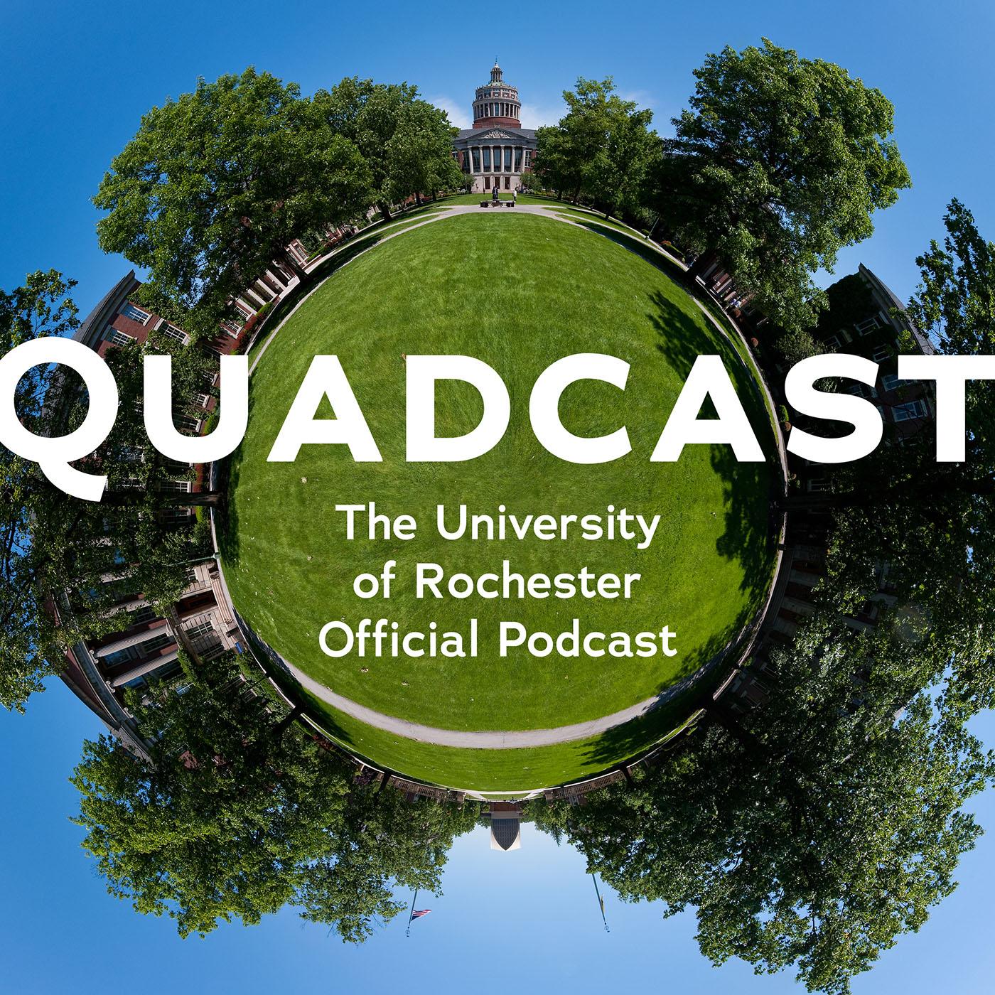 University of Rochester's Quadcast show art