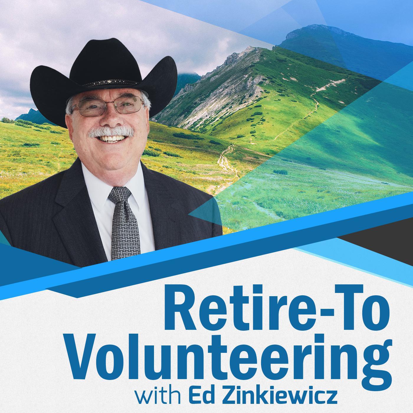 Retire-To Volunteering show art