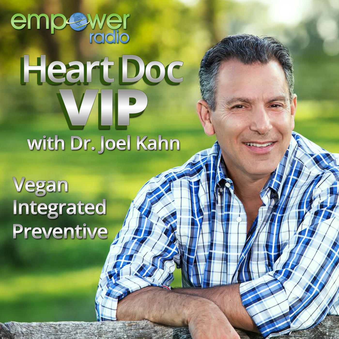 Heart Doc VIP with Dr. Joel Kahn show art