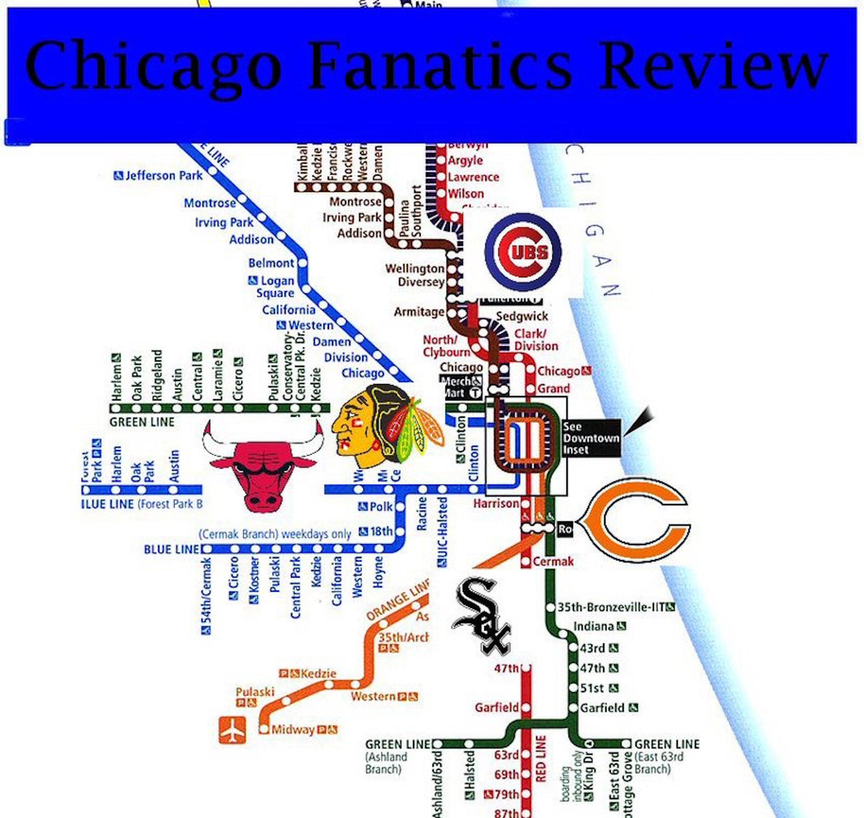 Chicago Fanatics Review show art