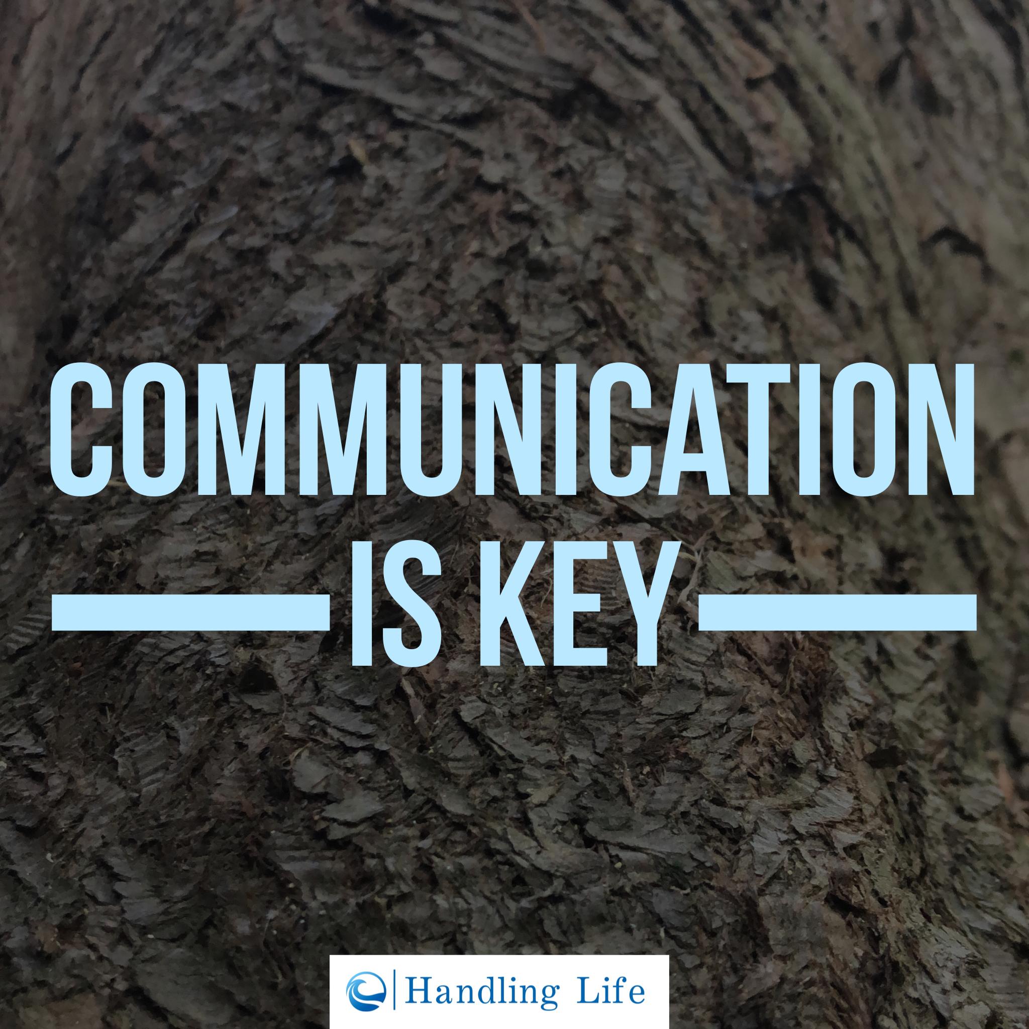Artwork for Communication is Key